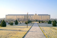 Kabinett Minister des Republik Usbekistans lizenzfreies stockfoto