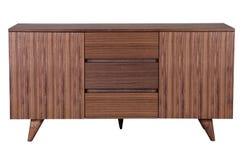 Kabinett trä arkivbild
