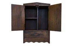 Kabinett trä Royaltyfri Fotografi