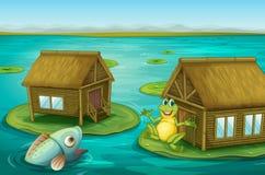 kabingroda stock illustrationer