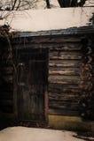 Kabinowy drzwi Zdjęcie Stock