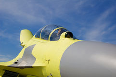 kabinowy samolot wojskowy Obraz Royalty Free