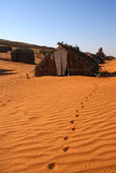 kabiny pustynia Zdjęcie Royalty Free