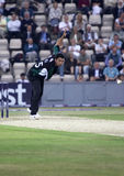 Kabir Ali. Hampshire v Worcestershire, Natwest Pro 40, The Rose Bowl, Southampton. 13th September 2006 Royalty Free Stock Photo
