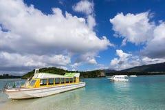 Kabira Bay in Ishigaki Island, Okinawa Japan Royalty Free Stock Images