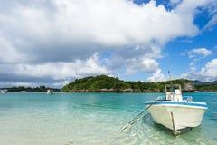 Kabira Bay in Ishigaki Island, Okinawa Japan Stock Photos