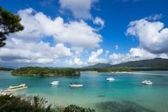 Kabira Bay in Ishigaki Island, Okinawa Japan Stock Images