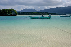 Kabira Bay in Ishigaki. Japan Stock Photos
