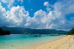 Kabira bay, Okinawa island #3b Royalty Free Stock Images