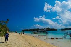 Kabira bay,Okinawa island #4 Royalty Free Stock Photo