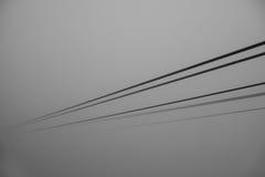 Kablar kabelbilen arkivbild