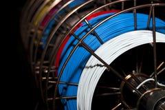kable kolorowego Zdjęcia Stock