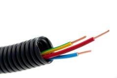 kable miedziują elektryków narzędzia Obrazy Stock
