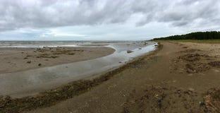 Kabli beach in Estonia stock photos