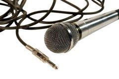 kabli mikrofonu prymka Obraz Royalty Free