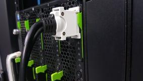 Kablowa konsola łączy serwer Zdjęcie Royalty Free