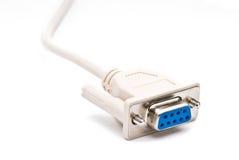 kablowy biel Fotografia Stock