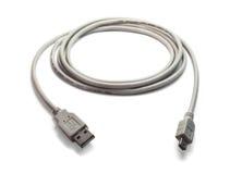 kablowy mini usb Zdjęcie Stock