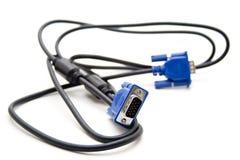 kablowy podłączeniowy monitor zdjęcie stock