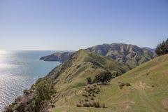 Kablowy podpalany walkaway, Nelson, Nowa Zelandia Fotografia Stock