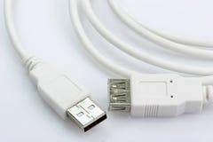 kablowy usb Zdjęcie Royalty Free