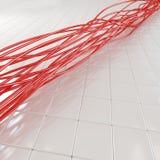 kablowy włókno światłowodowe Zdjęcie Stock