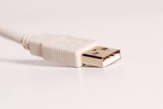 kablowych dane odosobniony biel Zdjęcia Stock