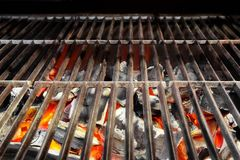 Kabob on  BBQ grill Royalty Free Stock Image