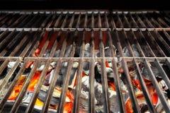 Kabob on BBQ grill royalty free stock image