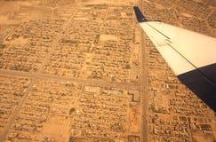 Kaboul d'en haut Image stock