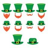 Kabouterkarakter voor St Patrick Dag in Ierland Royalty-vrije Stock Afbeelding