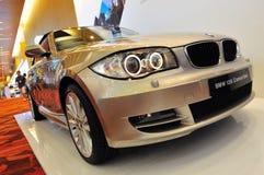 Kabriolett BMW-120i Lizenzfreie Stockfotos