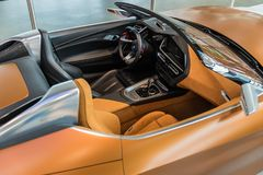 Kabriolett BMWs Z4 - Prototyp stockfotografie