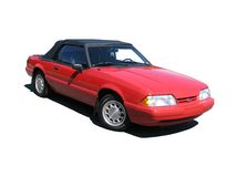 Kabriolett des Ford-Mustang-LX Lizenzfreies Stockbild
