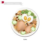 Kabsa or Bahraini Spiced Chicken and Rice Royalty Free Stock Photo