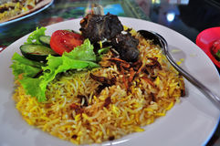 Kabsa rice Stock Photos