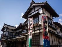 Kabuki剧院在Uchiko,日本 免版税图库摄影