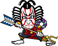 kabuki Fotografia Stock