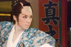 Kabuki Ausführender Lizenzfreie Stockfotografie