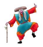 Kabuki character draw Stock Image