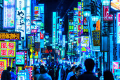 Kabuki-Cho区,新宿,东京,日本 库存图片