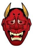 Kabuki do estilo japonês da tatuagem Fotos de Stock