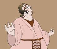 Kabuki man Stock Photos