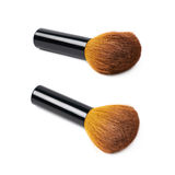 Kabuki mushroom makeup brush isolated Stock Photo