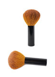 Kabuki mushroom makeup brush isolated Stock Photography