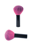 Kabuki mushroom makeup brush isolated Stock Image