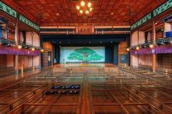 Kabuki teater royaltyfri fotografi