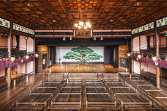 Kabuki Theater Stage Royalty Free Stock Images