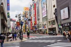 Kabukicho, shinjuku,东京 免版税库存照片