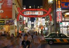 Kabukicho в Токио, японии Стоковая Фотография